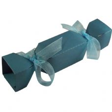 Teal Cracker Designer Favour Boxes
